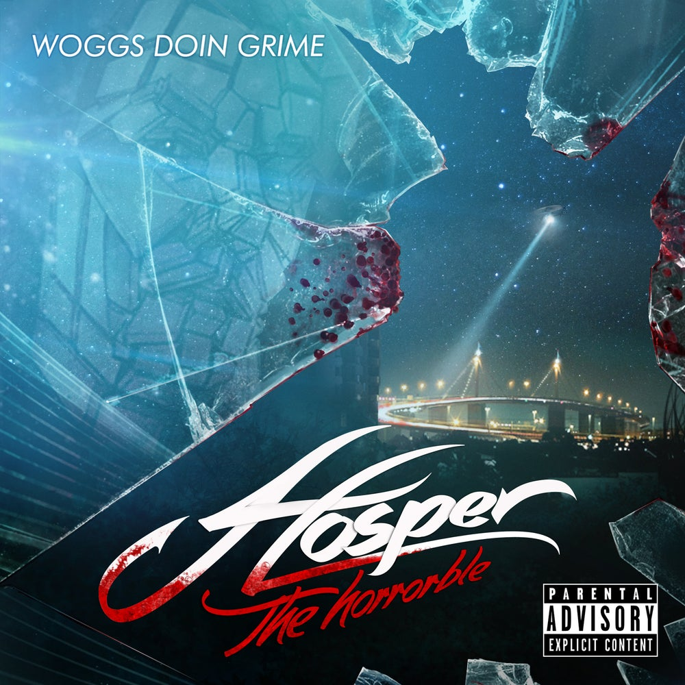 Image of Hosper The Horrorble - Woggs Doin Grime CD