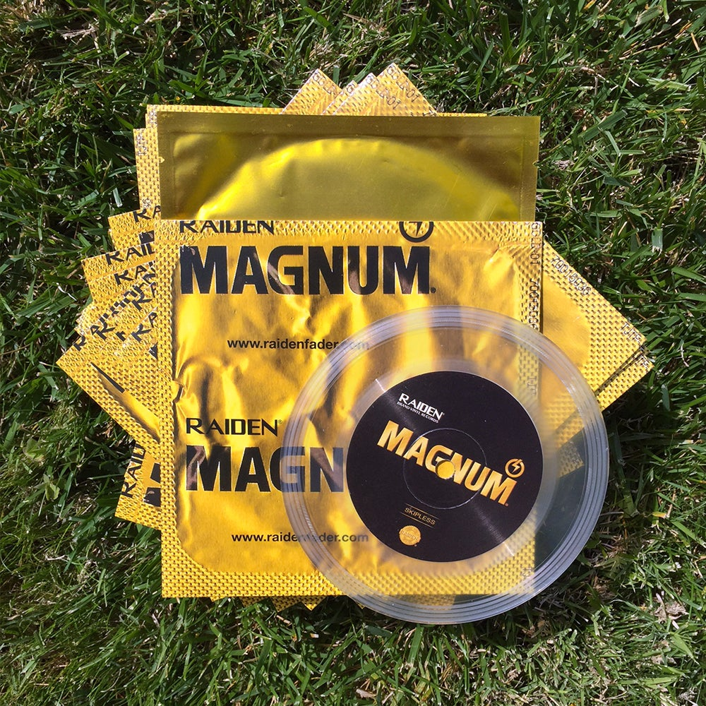 "Image of MAGNUM BREAKS - 5"" SCRATCH RECORD (limited copies)"