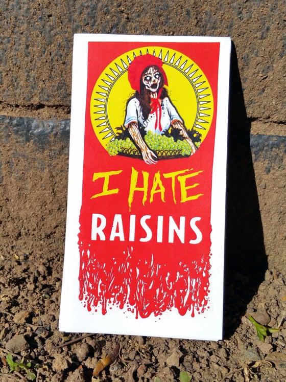 Image of I Hate Raisins