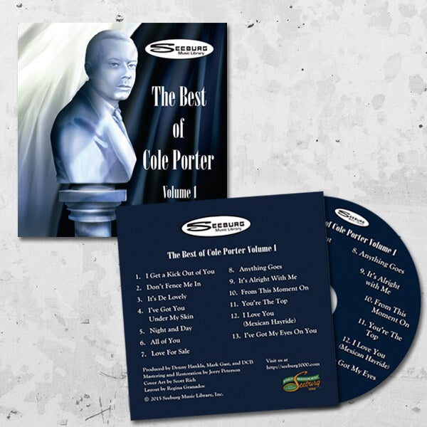 Image of Seeburg Music Library Cole Porter Vol 1 CD