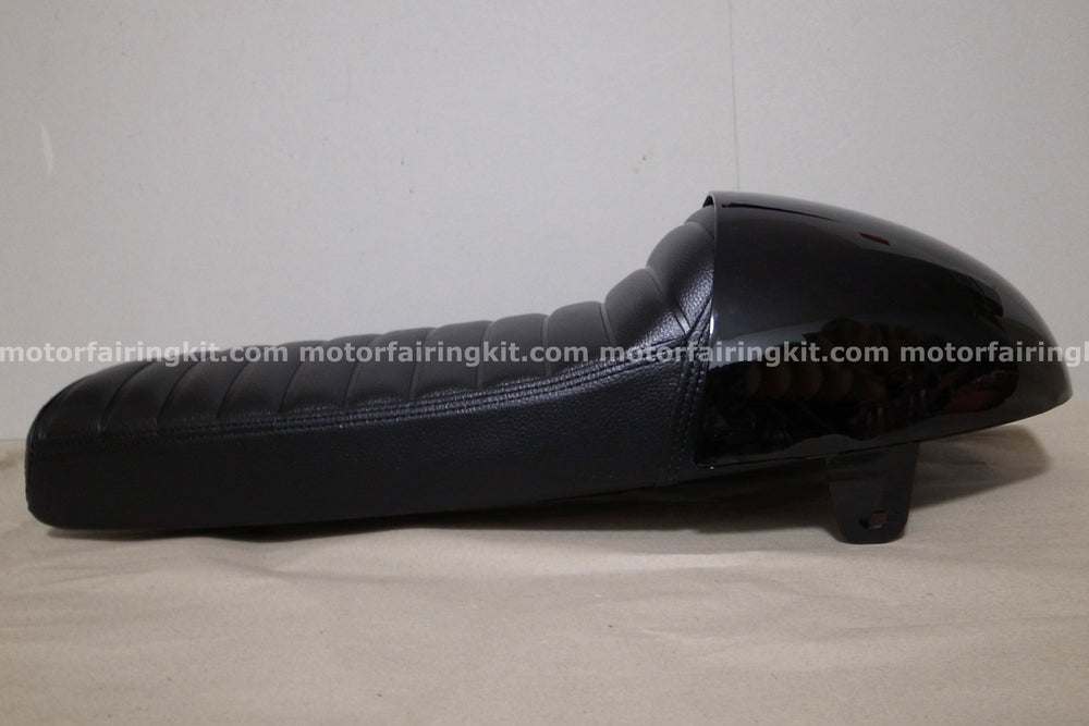 Image of Cafe Racer Hump Seat - With Rear ABS Cover / Black