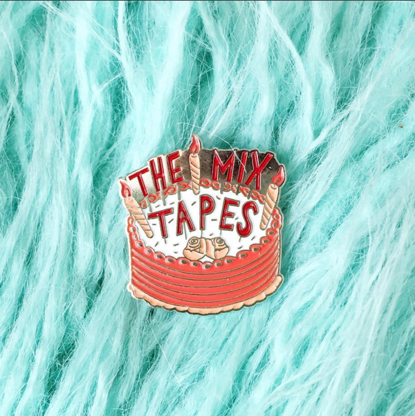 Image of The Mixtapes Enamel Pin