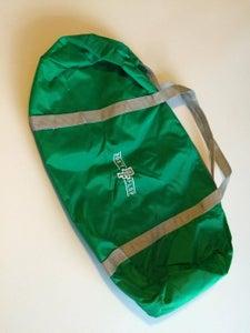 Image of Don't Flop Barrel Gym Bag