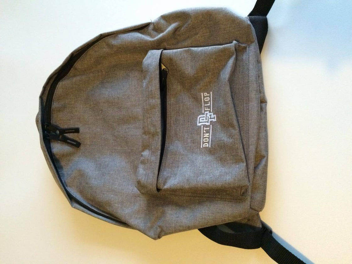 Image of Original Don't Flop Backpack | Grey