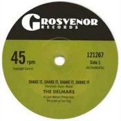 "Image of 7"" The Delmars : Shake It, Shake It, Shake It !  Ltd Edition White Vinyl."