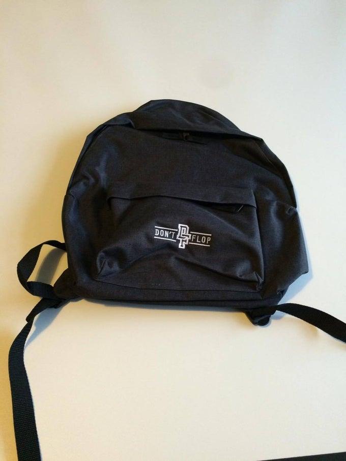 Image of Original Don't Flop Backpack | Black