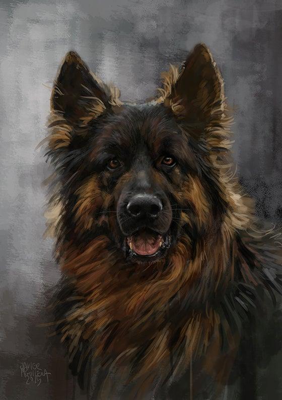 Image of Custom digital painting portrait