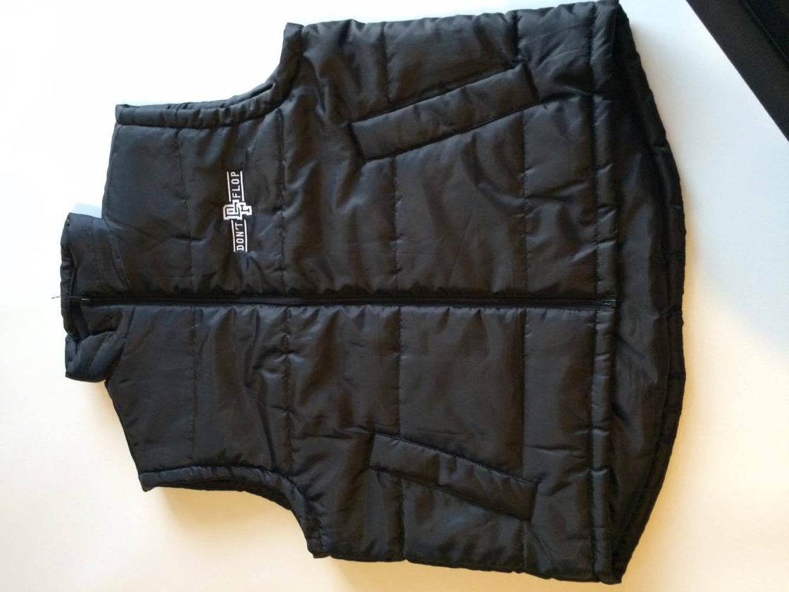 Image of Original Don't Flop Body Warmer | Black