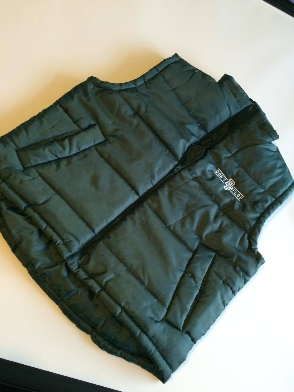 Image of Original Don't Flop Body Warmer | Bottle Green