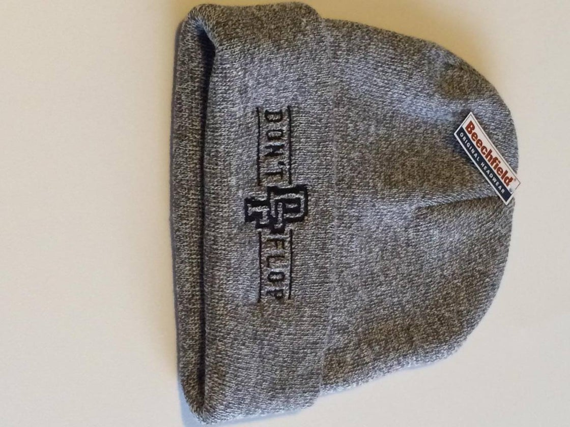Image of Original Don't Flop Beanie | Grey