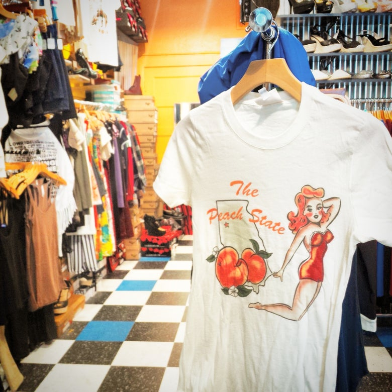 Image of The Peach State tee