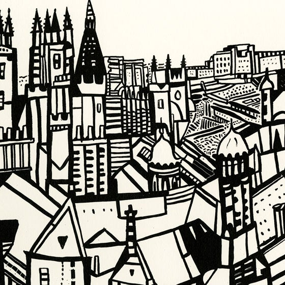 Image of Edinburgh view