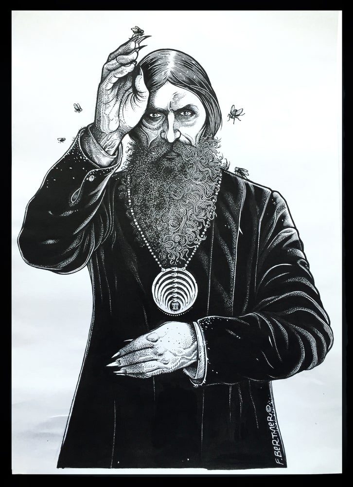 "Image of ""Rasputin"" Original Art"