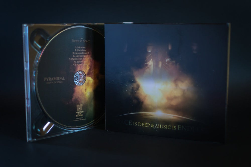 "Image of PYRAMIDAL - ""Dawn in Space"" Remastered Double CD (Digipack)"