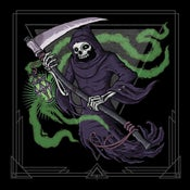 "Image of The Mound Builders / Pale Horseman split 12"" LP"