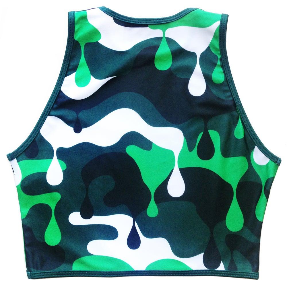 Image of NUCLEAR CAMO Bikini - Green