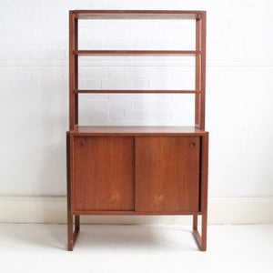 Image of Danish freestanding bookcase