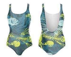 Image of Fishbones maillot de bain une-pièce