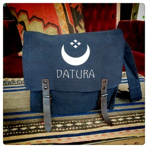 """Image of Special Edition: Datura Silver """"Moon Flower"""" Satchel"""