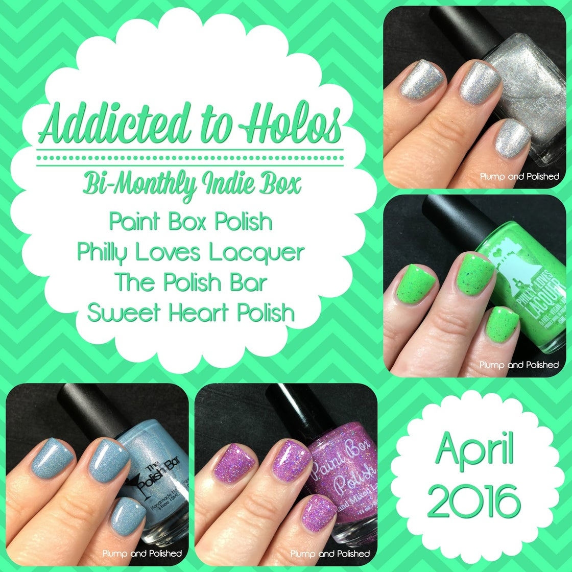 Image of Addicted to Holos: April 2016 Preorder