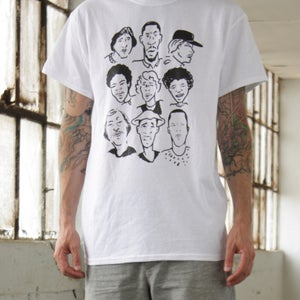 Image of Limited Edition Style Wars Tribute Tee in White