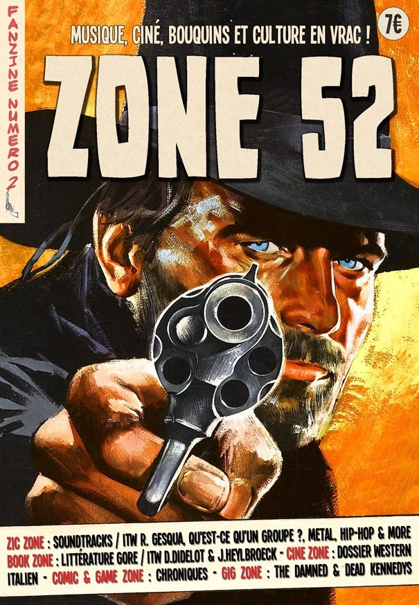 Image of ZONE 52 - Numéro 2 - SOLD OUT