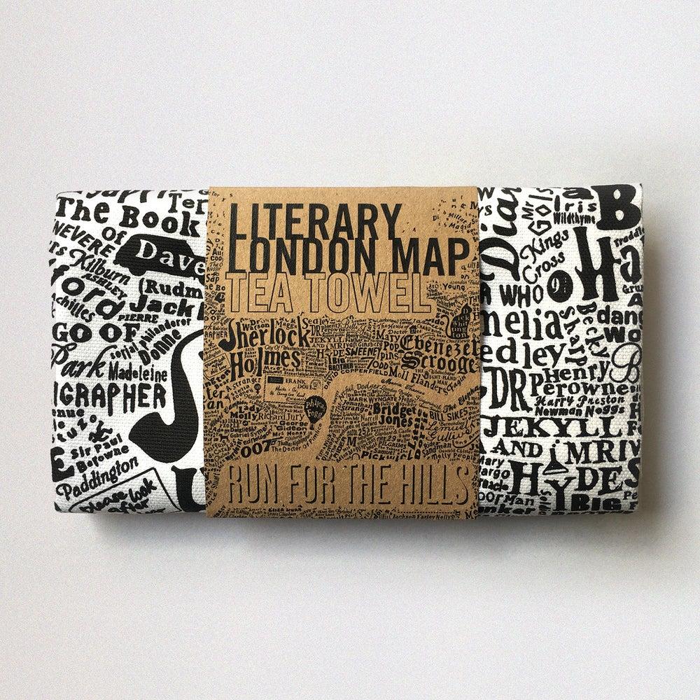 Image of Literary London Tea Towel (2016)