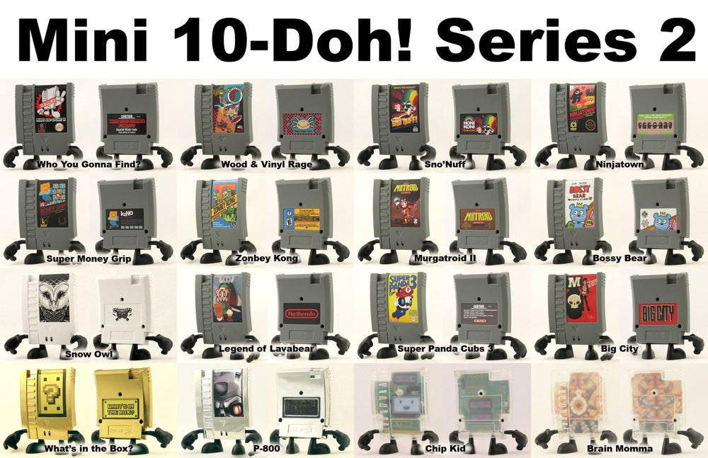 Image of Mini 10-Doh! Series2 - LOOSE FIGURES