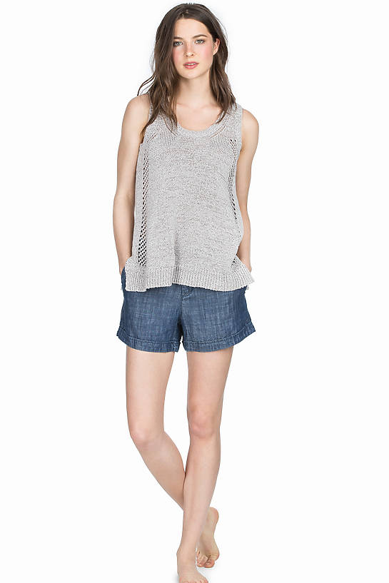 Image of Lilla P Chambray Short