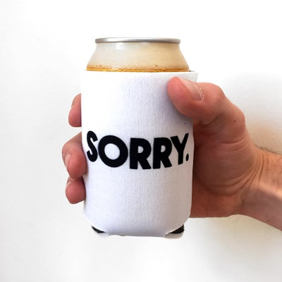 SORRY BEER COOZIE - Sorry.