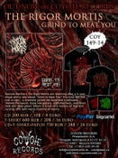 Image of THE RIGOR MORTIS - Grind to meat you CD / T-SHIRT / PATCH