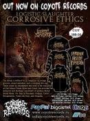 Image of PRE-ORDER !!! LOGISTIC SLAUGHTER Corrosive Ethics CD / T-shirt / Sweatshirt / Hoodie