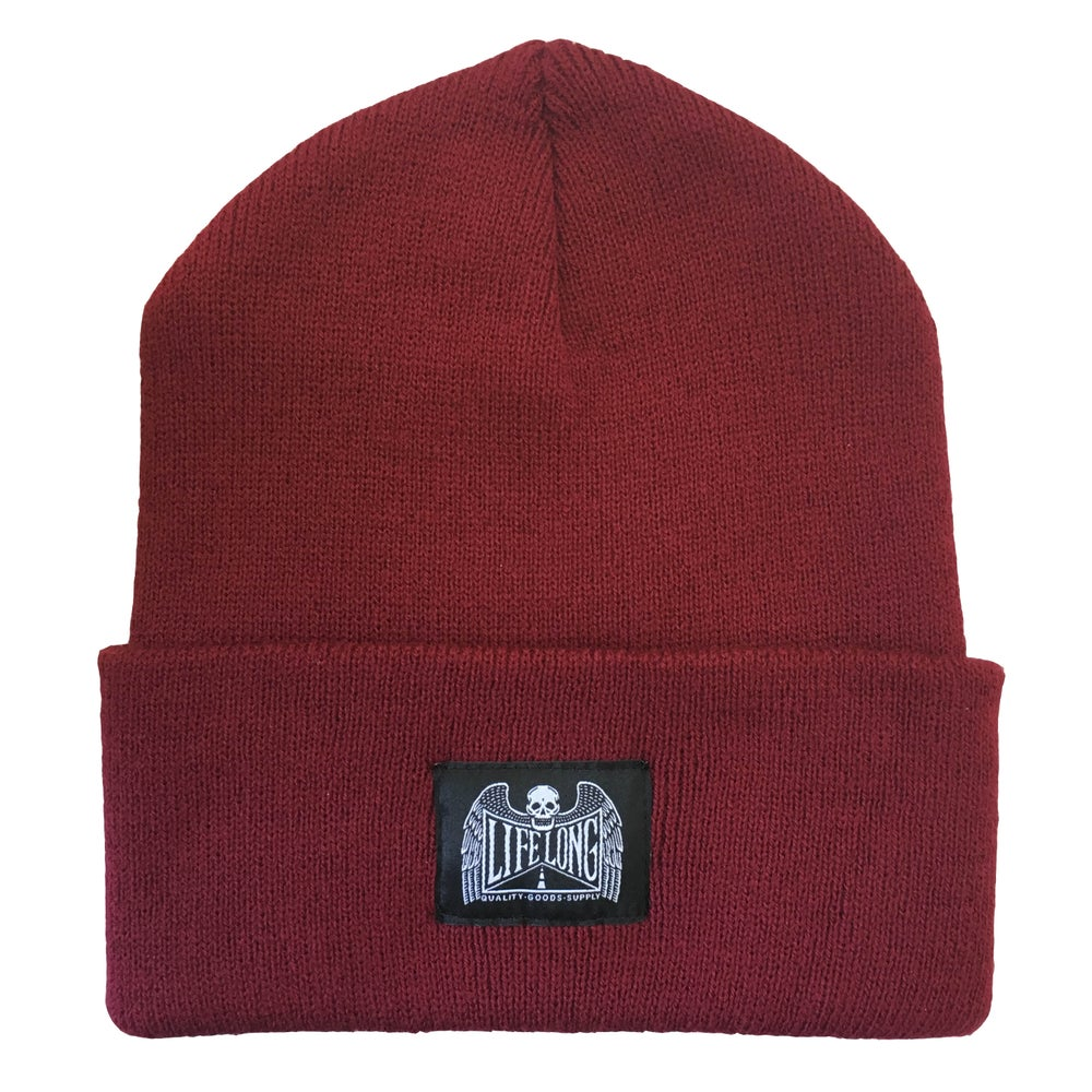 Image of LIFE LONG BEANIE MAROON