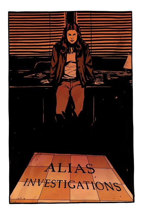 Image of Jessica Jones signed print by Michael Gaydos