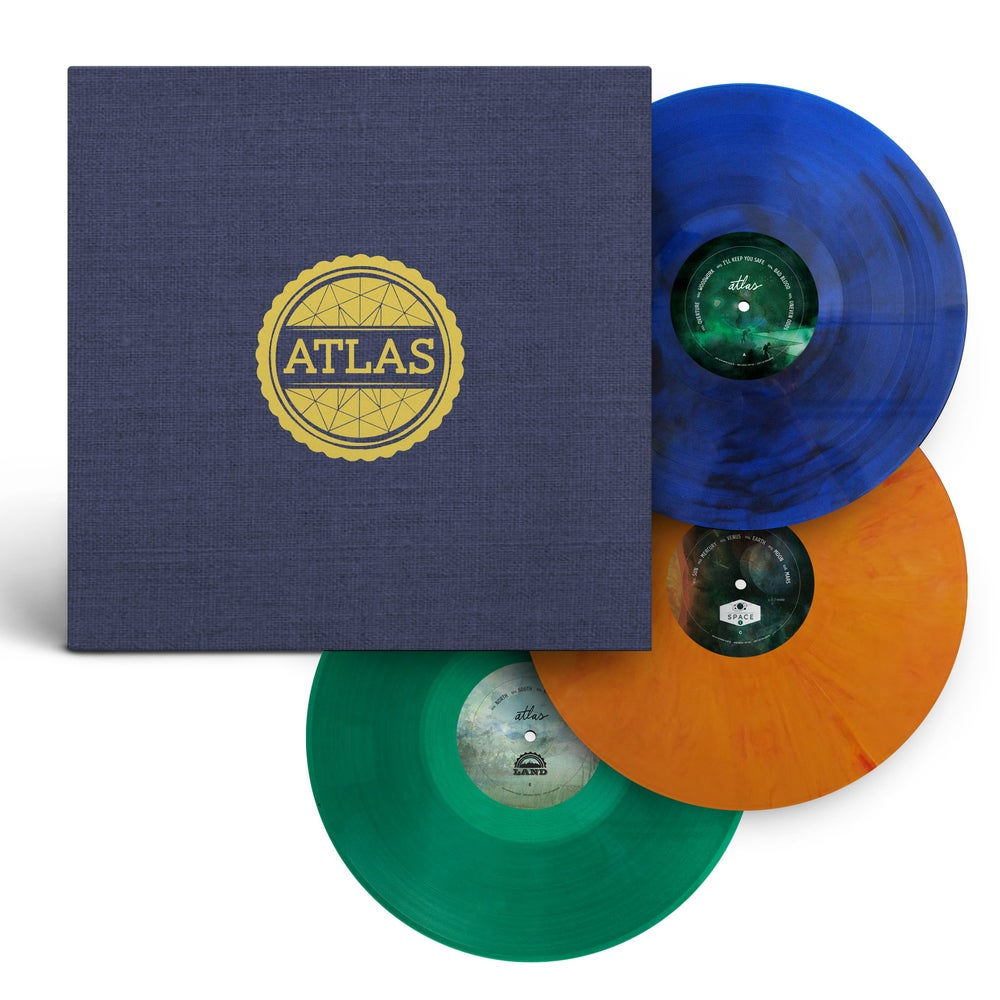 Image of Atlas: Year One (Multi-Color 3-Vinyl Set)
