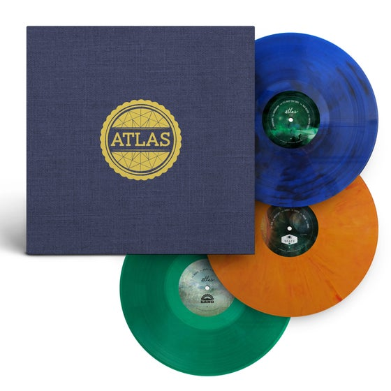 Image of Atlas: Year One (Multi-Color 3-Vinyl Set)