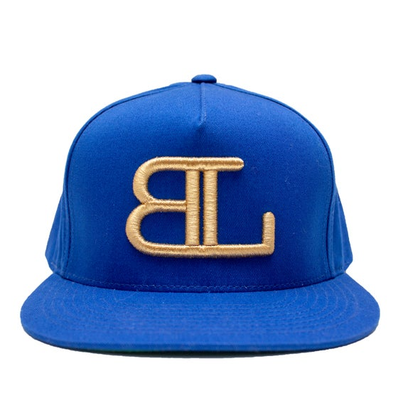 Image of GOLD BL logo in Blue