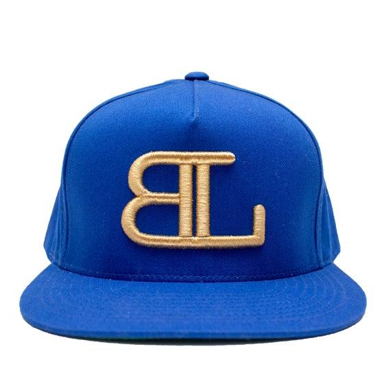 Image of GOLD BL logo in Blue