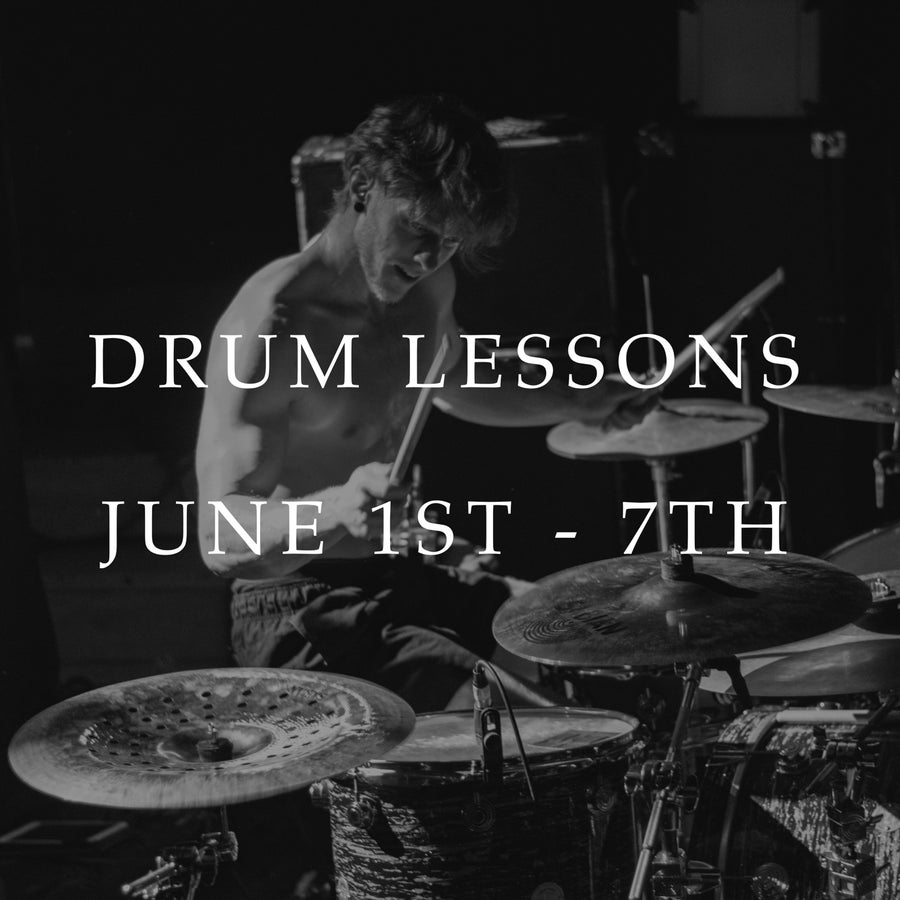 Image of UK Drum Lessons (June 1st - 7th)