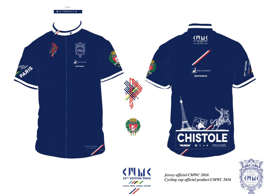 Image of CMWC SUPPORTER CYCLING JERSEY
