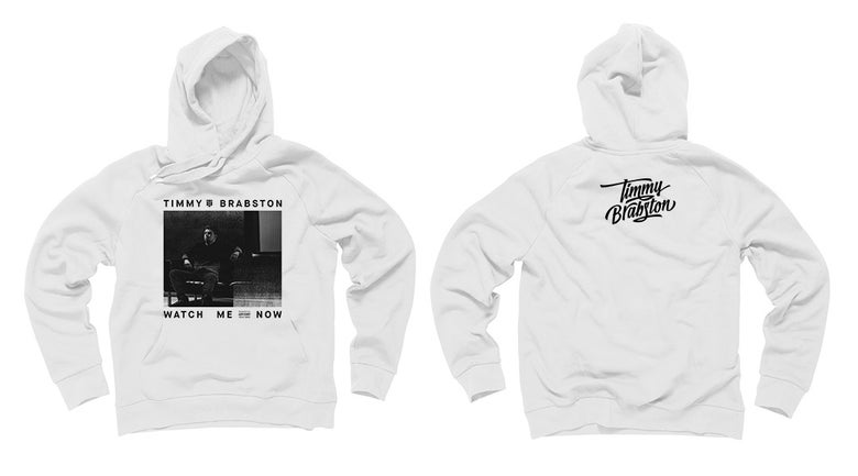 Image of Watch Me Now Hoodie (White)