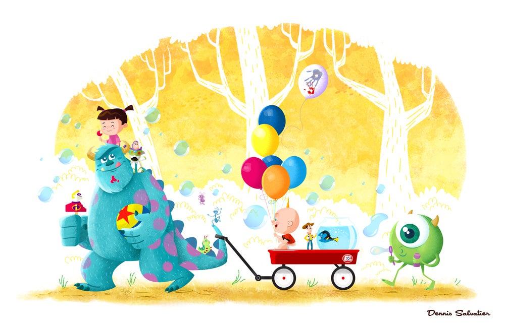 Image of Pixar Tribute