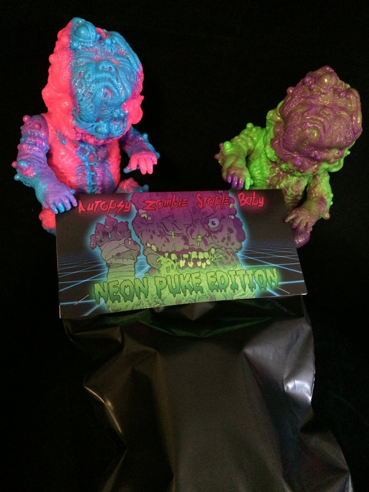 Image of Neon Puke Edition Blind-Bag