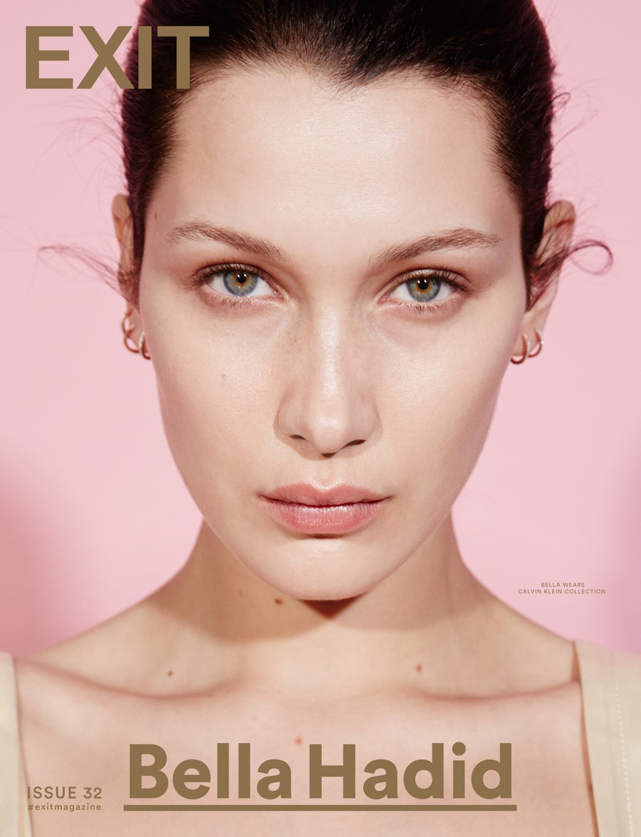 Image of EXIT MAGAZINE ISSUE 32 (BELLA HADID COVER)