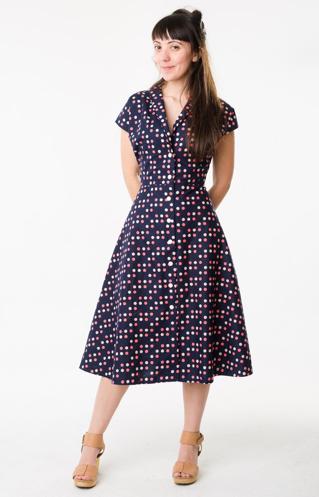 Image of Rosendale Dress: Sunday Dot
