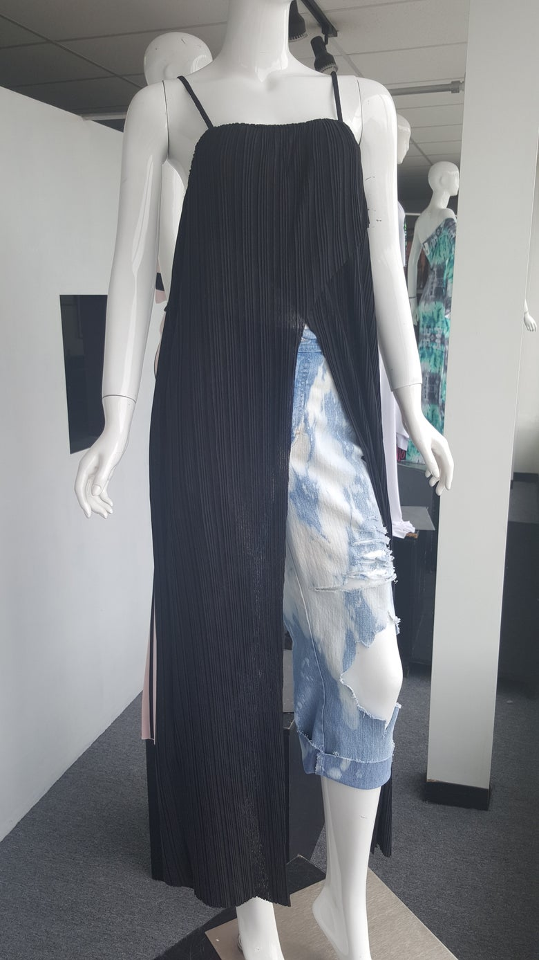 Image of  Black Maxi Shirt