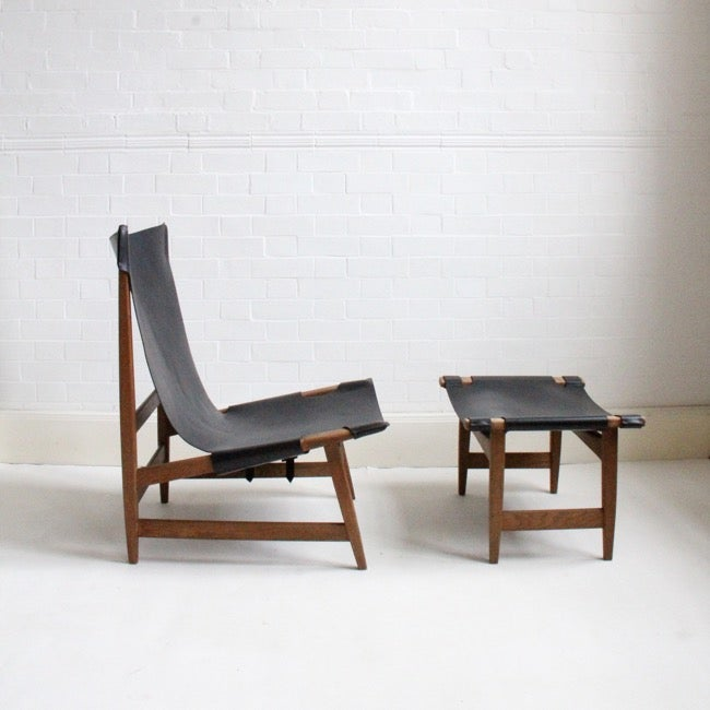Image of Danish lounge chair