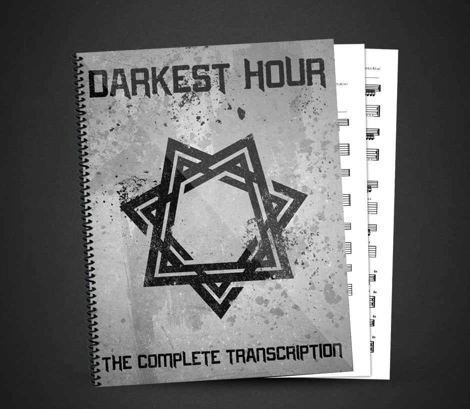 Image of Darkest Hour - Self Titled - The Complete Transcription (Digital Songbook)