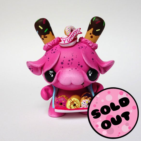 "Image of Skippy - 3"" Custom Kidrobot Dunny"