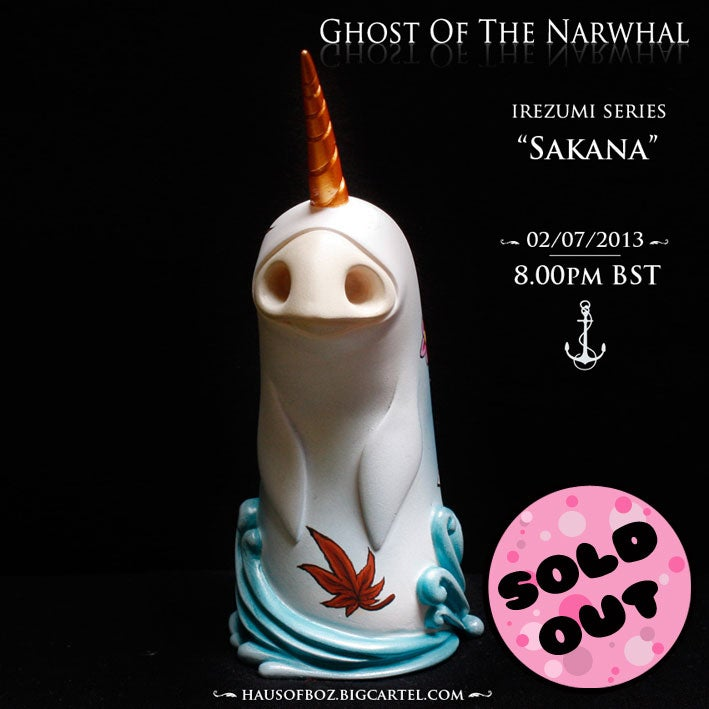 Image of Ghost Of The Narwhal - Sakana